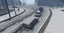 Singleplayer Snow/Снег GTA 5