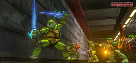 Скриншот №1 Teenage Mutant Ninja Turtles: Mutants in Manhattan
