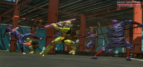 Скриншот №3 Teenage Mutant Ninja Turtles: Mutants in Manhattan