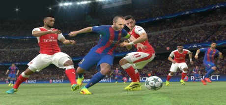 Скриншот №3 Pro Evolution Soccer 2017 PC (CPY)