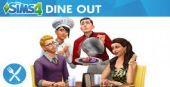 Постер The Sims 4 Dine Out (2016) PC