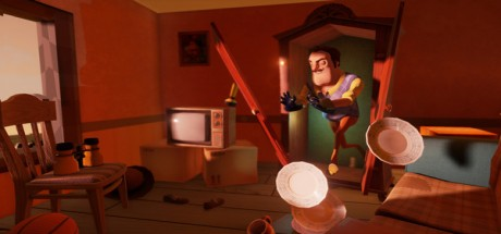Скриншот №2 Hello Neighbor /  Привет Сосед (Бета 3) (2017) PC