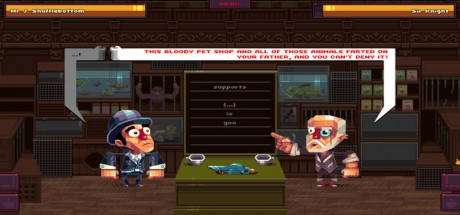 Скриншот №1 Oh Sir!! The Insult Simulator (2016) PC