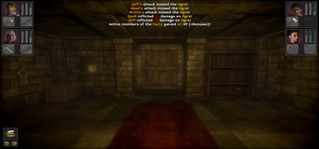 Скриншот №1 The Deep Paths: Labyrinth Of Andokost (2016) PC