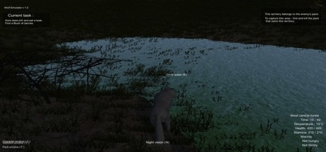 Скриншот №3 Wolf Simulator (2016) PC