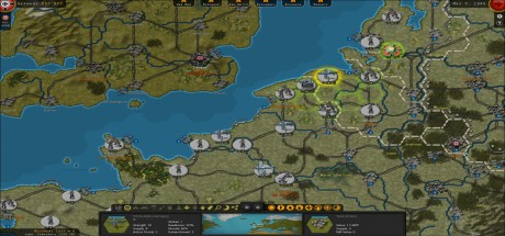Скриншот №3 Strategic Command WWII War in Europe (2016) PC