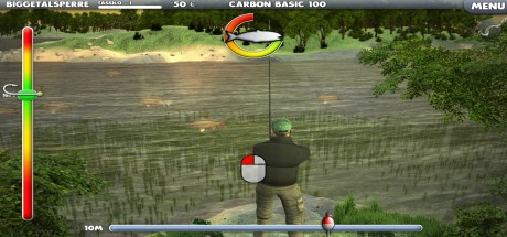 Скриншот №1 Arcade Fishing v1.0.6 (2016) PC