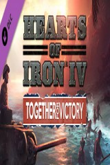 Дополнение Hearts of Iron IV Together for Victory v1.3
