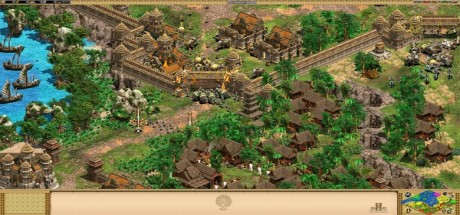 Скриншот №1 Age of Empires II HD The Rise of the Rajas (2016) PC