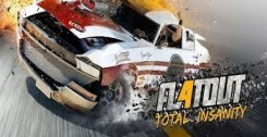 Постер Кряк (таблетка) FlatOut 4 Total Insanity