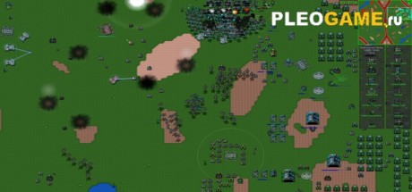 Скриншот №1 Rusted Warfare - RTS (v1.09) полная версия