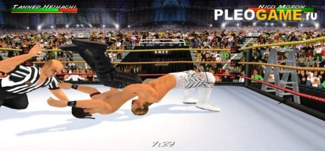 Скриншот №2 Wrestling Revolution 3D (2017) PC полная версия