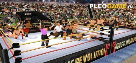 Скриншот №1 Wrestling Revolution 3D (2017) PC полная версия