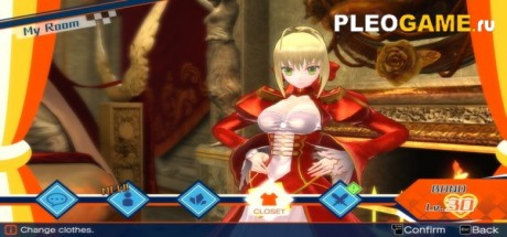 Скриншот №1 Fate/EXTELLA (2017) PC + DLC Pack - полная версия