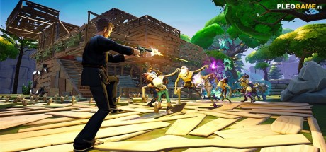 Скриншот №1 Fortnite [1.8.2] (2017/RUS) PC