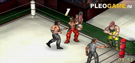 Скриншот №1 Fire Pro Wrestling World (2017) PC - Лицензия