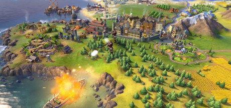 Скриншот №1 Sid Meier's Civilization® VI [1.0.0.216] + DLC Rise and Fall на русском | Repack