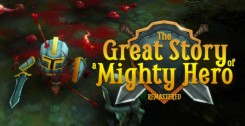 Постер The Great Story of a Mighty Hero Remastered (2018) RELOADED