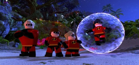 Скриншот №1 LEGO The Incredibles [1.0.0 + 1 DLC] (2018) полная версия RePack от qoob