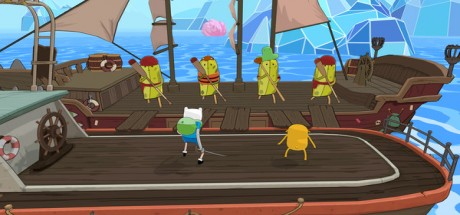 Скриншот №3 Adventure Time: Pirates of the Enchiridion (2018) PC Лицензия
