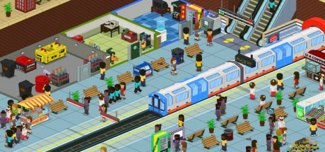 Скриншот №3 Overcrowd: A Commute Em Up (2019) новая версия
