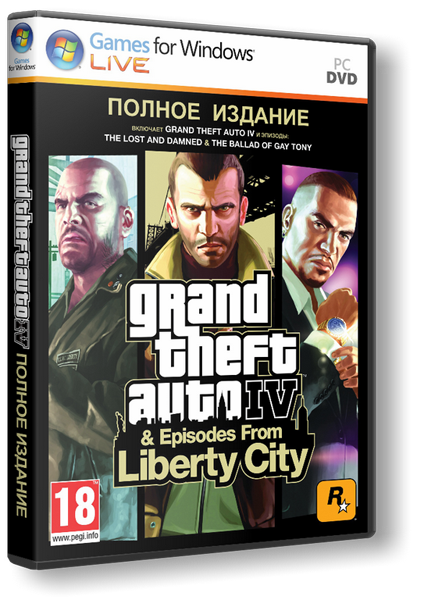 GTA 4 / Grand Theft Auto IV - Complete (2010)