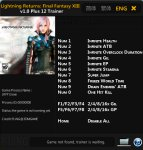 Трейнер Lightning Returns: Final Fantasy 13