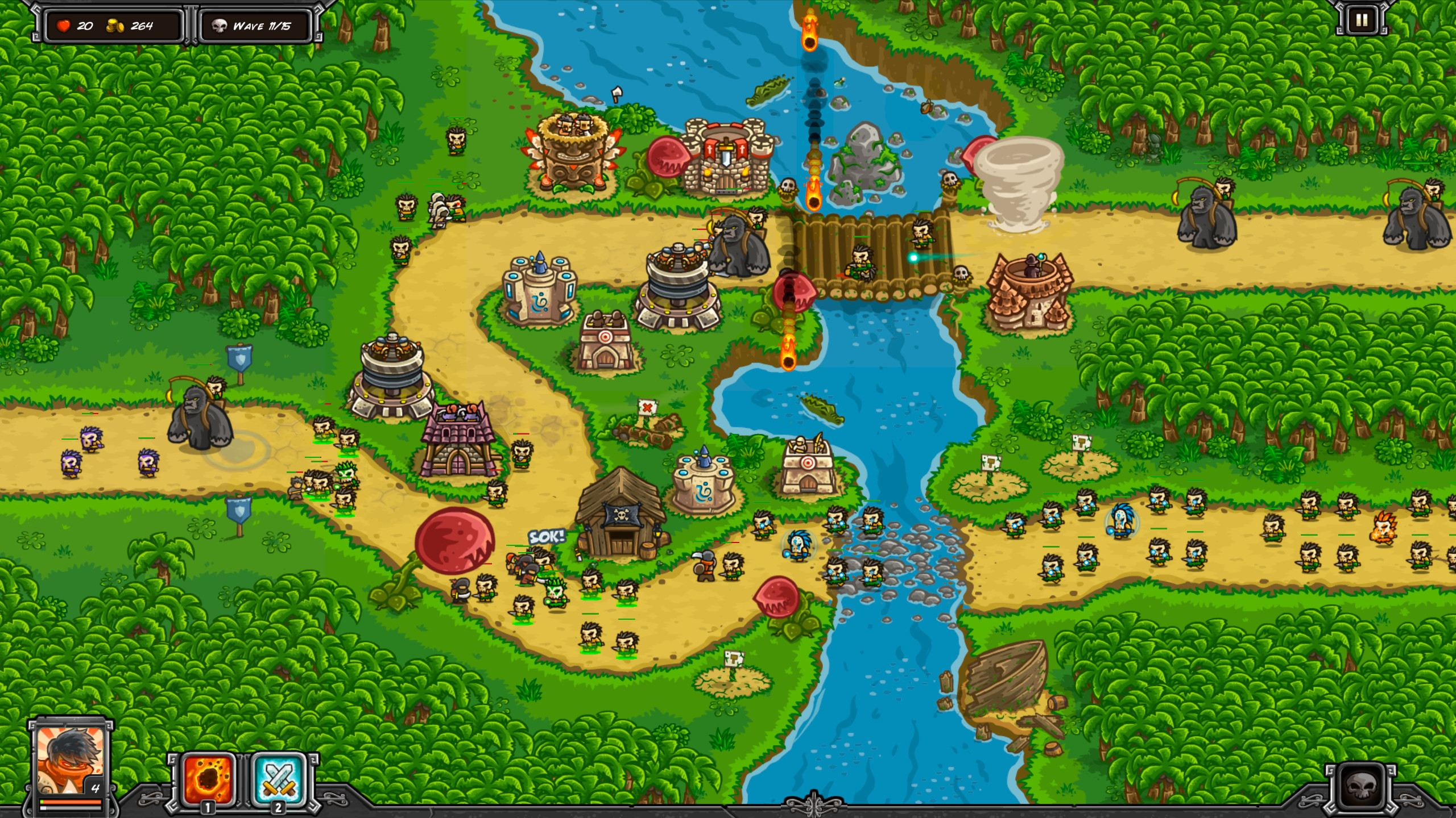 Kingdom Rush: Frontiers v1.4.4 (2016)