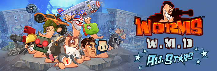 Дополнение/DLC для Worms W.M.D: All stars