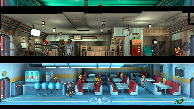 Патч 1.8 Fallout Shelter
