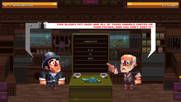 Игра Oh Sir!! The Insult Simulator (2016) PC