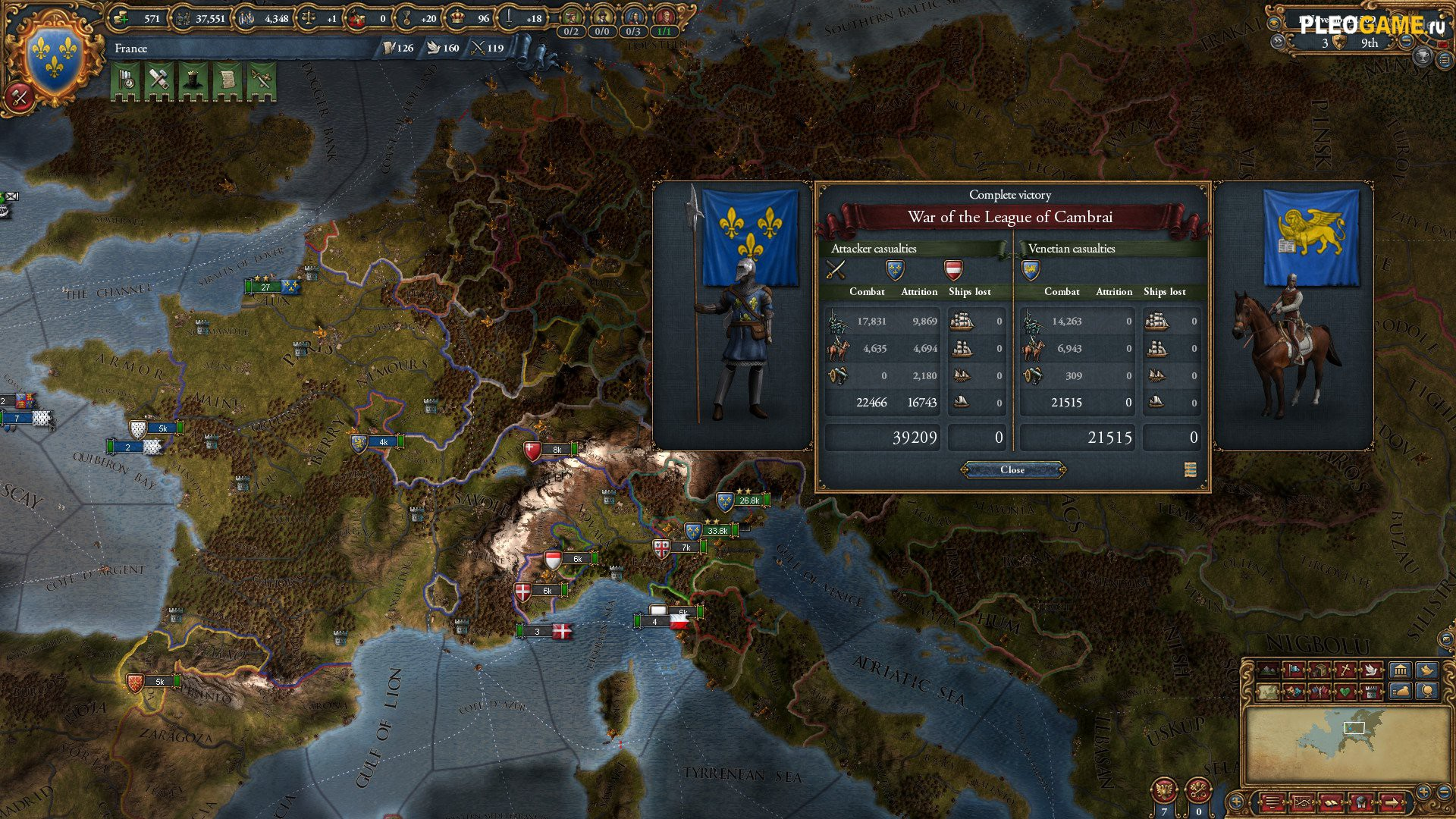 Игра Europa Universalis IV Rights of Man (2016) PC