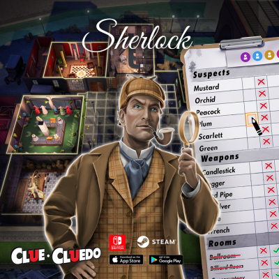 Clue The Classic Mystery Game Sherlock Theme