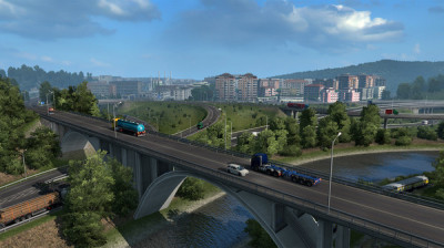 Euro Truck Simulator 2 - Road to the Black Sea (DLC) новая версия